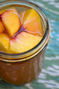 Ginger Peach Sweet Tea